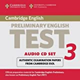 [(Cambridge Preliminary English Test 3 Audio CD Set (2 CDs): Examination Papers from the University of Cambridge ESOL Examinations)] [Author: Cambridge ESOL] published on (September, 2003)