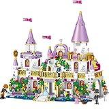 GXT Ragazze Assemblaggio Castello di Windsor Ragazze Serie Yizhi Principessa Casa 731 Building Blocks Concentrazione (Color : Castle)