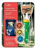 Natural History Museum N5131- Torcia proiettore con Immagini di Insetti Creepy Crawly