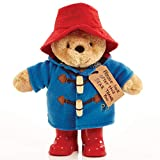 Paddington Bear with Boots & Embroidered Jacket Medium, red (PA1489)