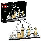 LEGOArchitectureLondra,SetdiCostruzioniCollezioneSkylineconLondonEye,BigBen,TowerBridge,IdeaRegaloCollezionabile,21034