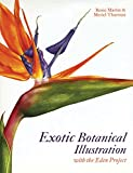 Exotic Botanical Illustration with the Eden Project