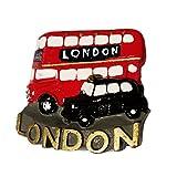 #1-Route Master da Bus, Taxi, Londra Taxi Cab Nero/Hackney-Magneti in poliresina, a forma di carrozza, da collezione, Souvenir/Speicher!!, Memoria speciale, Unique-Calamita da!-Here's a Memorable London Souvenir! Aimant/Magnet/calamite Imán S01!
