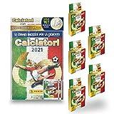 Figurine Panini Calciatori 2021 Special Pack [Album + 25 Bustine + 2 Bustine Omaggio]