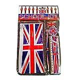 Set Scolastico Londra Union Jack / Inghilterra Regno Unito Souvenir / Britannico UK da collezione / Idea regalo / Set completo di scuola stampata per elevi, studenti e adulti / Kit Scuola