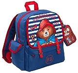 Paddington Bear - Zaino da viaggio o per scuola + portafoglio staccabile, per ragazzi e ragazze, Blu (Blu) - LBAMZMPN1172
