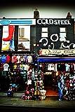 Camden Town fotografia a 30,5 x 45,7 cm stampa fotografica di design Shop frontali in Camden Town London NW1 Inghilterra UK ritratto colore per foto artistica