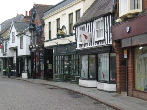 Hitchin in Hertfordshire