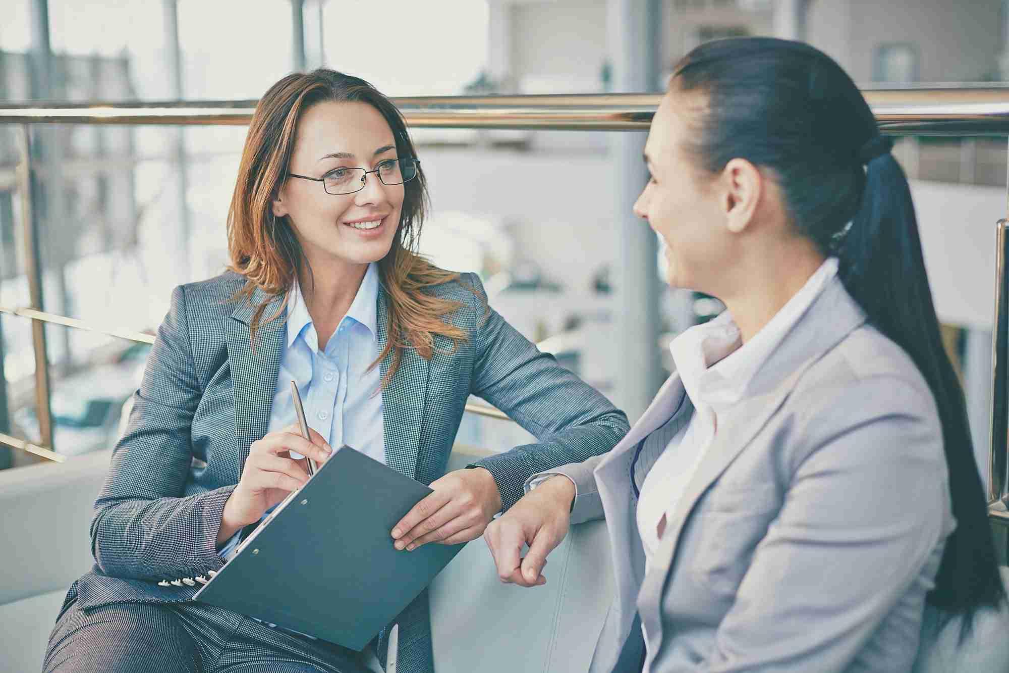 Talk of businesswomen