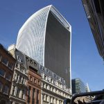 LONDON - MAY, 2017: The Walkie Talkie building, 20 Fenchurch Street